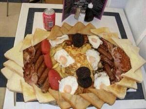 ルカクの朝食