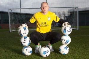 Brad Guzan of Aston Villa-1132209